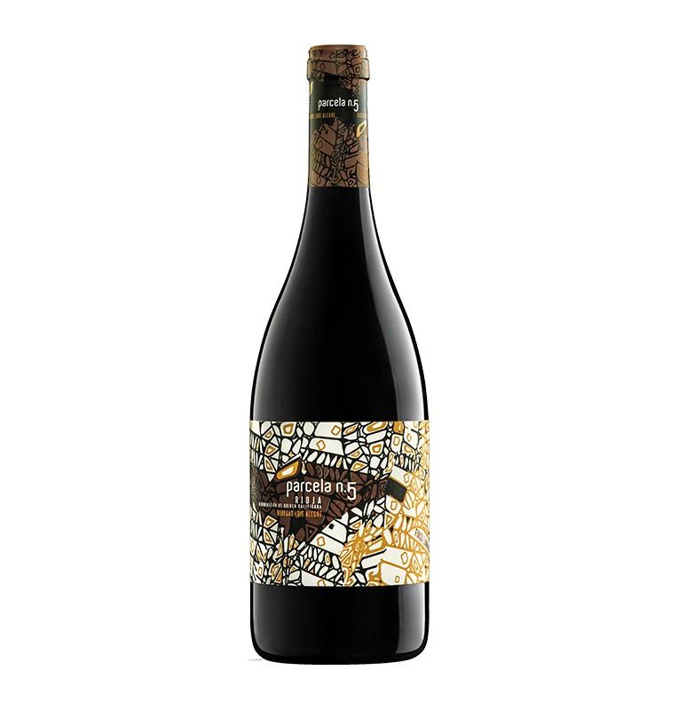 Bouteille de Vin rouge espagnol Parcela N°5 2014 de Bodegas Luis Alegre - AOC Rioja