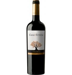 Bouteille de Vin rouge espagnol Petit Verdot Crianza de Casa de la Ermita - AOC Jumilla
