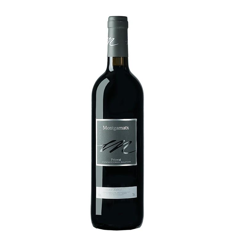 Bouteille de vin rouge Montgarnatx 2005, appellation Priorat de bodegas Cartoixa de Montsalvat