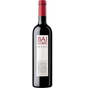 Bouteille de vin rouge Baigorri crianza 2015, appellation Rioja de Bodegas Baigorri