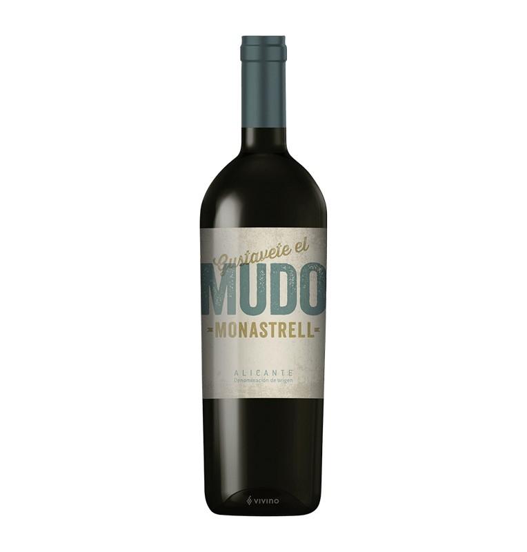 Bouteille de vin rouge espagnol Gustavete El Mudo de Bodegas Abanico, AOC Alicante