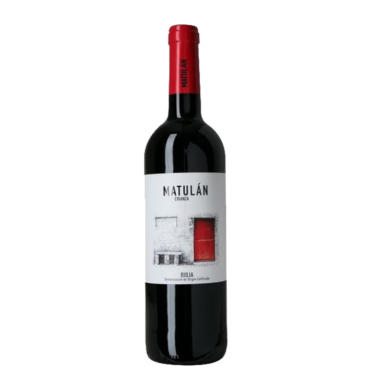 Bouteille de vin rouge espagnol Matulan de Bodegas Obalo, AOC Rioja