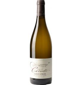 Bouteille de vin blanc Saint-Véran 2018 Les chatenays du Domaine Carrette