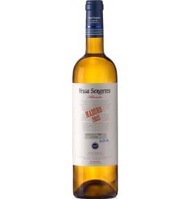 Bouteille de vin blanc Albarino 2017 de Bodegas Veira Serantes