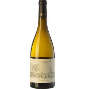 Bouteille de vin blanc elevage chene Benufet 2018 de bodegas Hrencia Altes