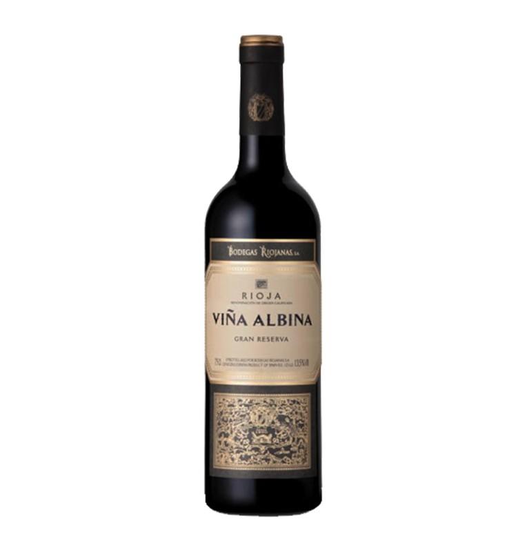 Bouteille de Vin rouge espagnol Viña Albina Gran Reserva 2010 de Bodegas Rojianas - AOC Rioja