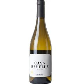 Bouteille de vin blanc Casa Ravella Joven 2018, appellation Penedès de bodegas Casa Ravella