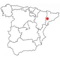 Localisation de l'appellation Costers del Segre (Espagne)