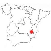 Localisation de l'appellation Jumilla (Espagne)