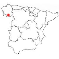 Localisation de l'appellation Monterrei (Espagne)