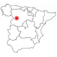 Localisation de l'appellation Rueda (Espagne)
