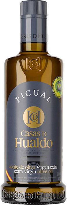 Picual 500 ml - Bouteille d'huile d'olive extra-vierge qualité premium de Casas de Hualdo