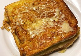 Croque-Monsieur au Saumon façon pain perdu