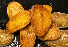 Patatas boca abajo - Pommes de terre face contre terre
